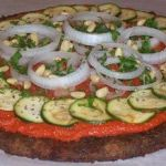Veggie Pizza…Raw!