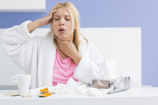Your body attempts to expel chest congestion by coughing.