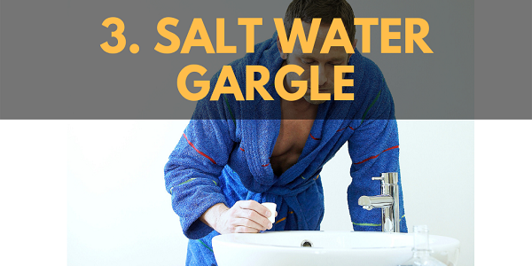 Home Remedies for Chest Congestion – Salt Water Gargle