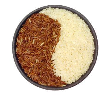 brown-white-rice