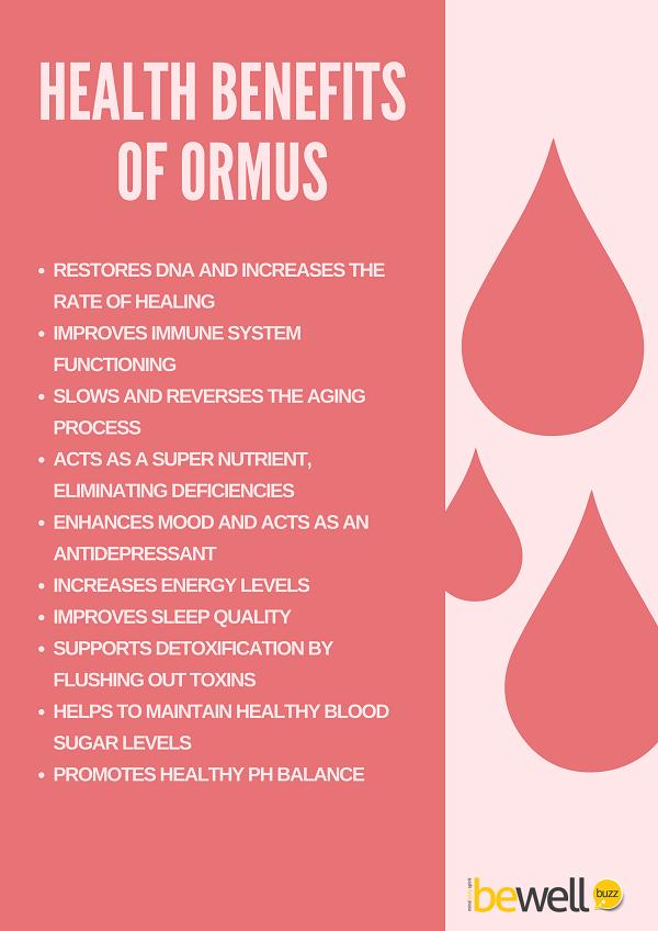 Health Benefits of Ormus