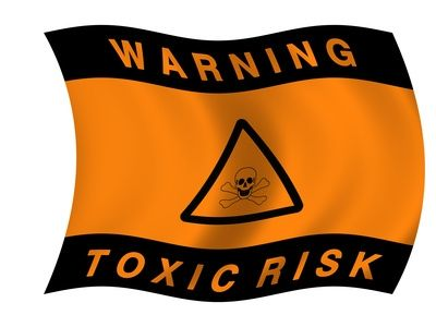 Toxic hazard flag