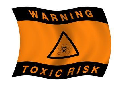 Toxic hazard flag