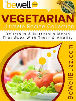 BeWellBuzz Launches Vegetarian Ultimate Recipe Collection Series