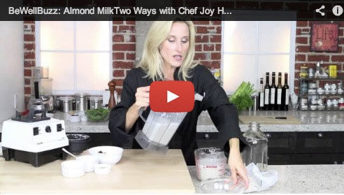 Almond Milk Two Ways