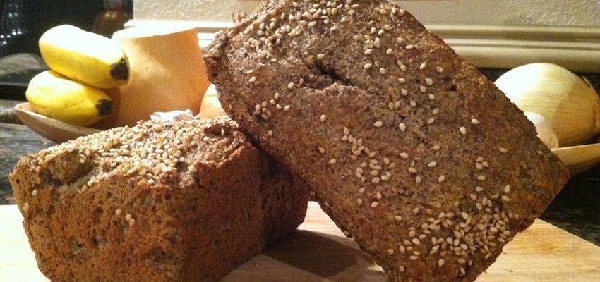 Gluten-free Recipe: Omega 3-Rich Flaxseed Bread