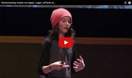 This Kid Answers One Of Life's Hardest Questions. Then Creates HackSchooling!