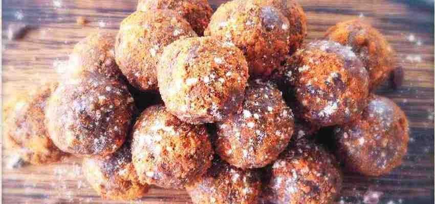 Raw Vegan Recipe: Almond Butter Chocolate Protein Balls