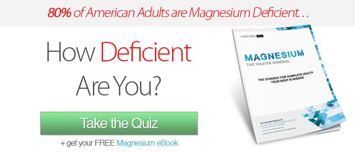 magnesium deficiency quiz