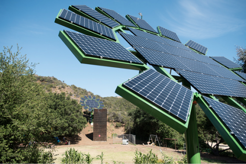 James Cameron's Design Take on Solar Panels