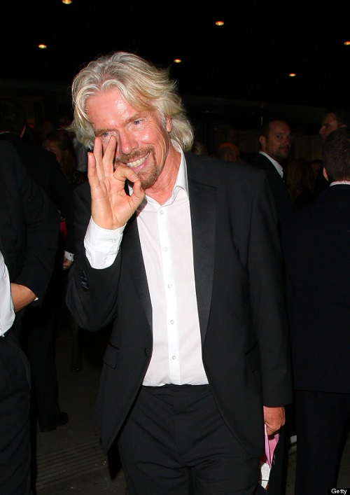 LONDON, UNITED KINGDOM - SEPTEMBER 21: Richard Branson attends the Boodles Boxing Ball on September 21, 2013 in London, England. (Photo by Mark Robert Milan/FilmMagic)
