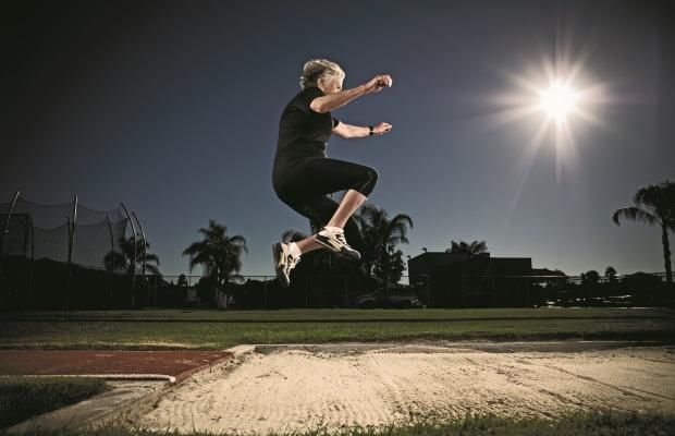 PHOTOGRAPH BY PATRIK GIARDINO DID ALL THAT RUNNING, JUMPING, AND, MOST CRUCIALLY, LEARNING KEEP KOTELKO'S BRAIN STRONG WELL INTO HER TENTH DECADE?