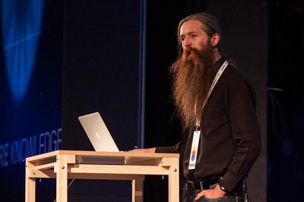 Aubrey De Grey (Photo: SHARE Conference, via)
