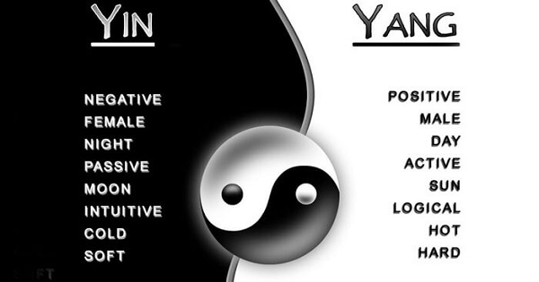 Chi is made up of two kinds of forces, yin and yang.