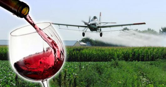 Glyphosate found in all California Wines Tested