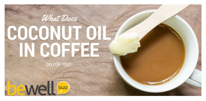 coconut oil in coffee