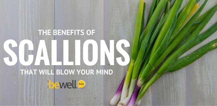 benefits of scallions