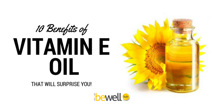 benefits of vitamin e oil