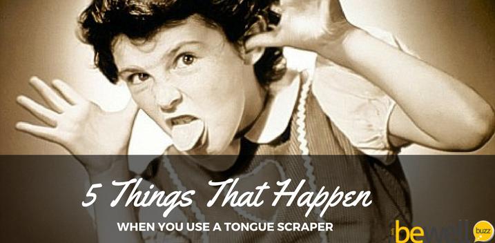 tongue scraper