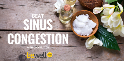 sinus congestion coconut oil