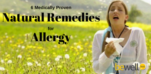 6 Medically Proven Natural Remedies for Allergy