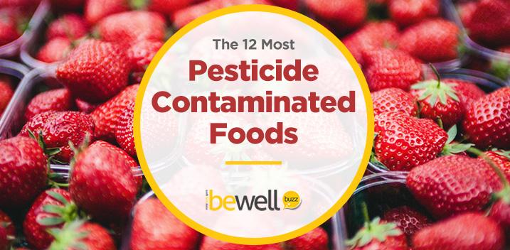 pesticide contaminated foods