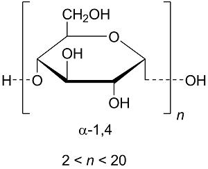 Maltodextrin: Chemical structure