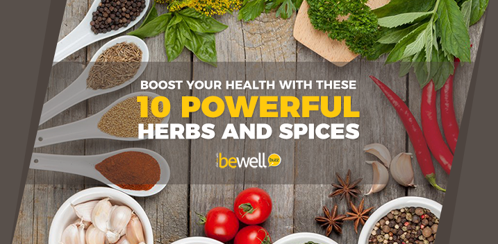 Boost your health with these 10 powerful herbs and spices