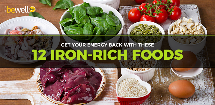 The Top 12 Iron-Rich Foods to Combat Anemia