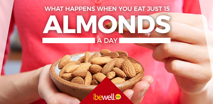 This Is What Happens When You Eat Just 15 Almonds A Day