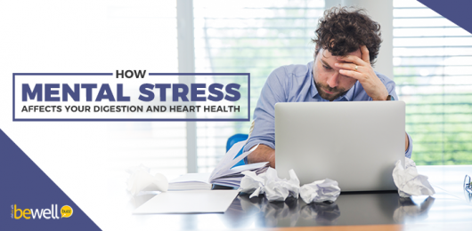 Here's How Stress Affects Your Digestion and Heart Health
