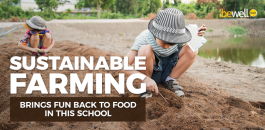 Sustainable Farming Brings Fun Back to Food in This School