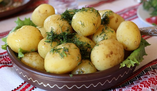 Potatoes are an excellent source of the essential nutrient Potassium.