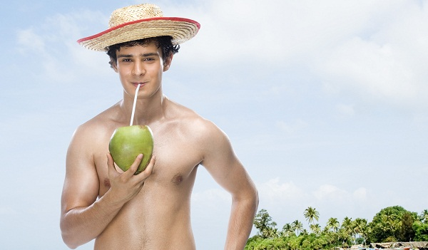 Raw Foods: fresh coconut water is a great drink for replenishing electrolytes.
