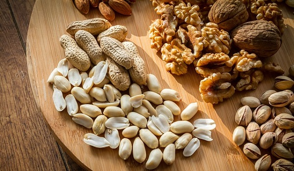 Nuts—especially almonds and walnuts—are one of the most important foods for anti-aging.
