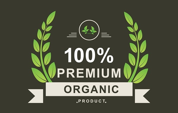 organic product logo