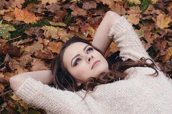 thinking laying down