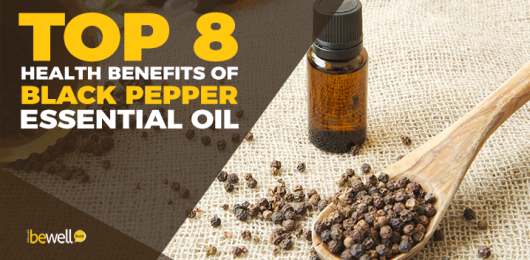 Top 8 Health Benefits of Black Pepper Essential Oil