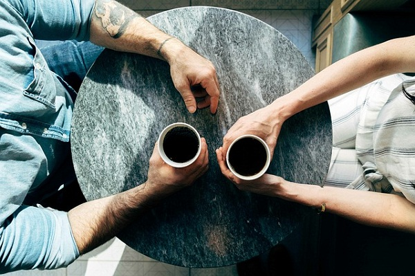 More than four cups of caffeinated coffee can lead to jitters, insomnia, and anxiety.