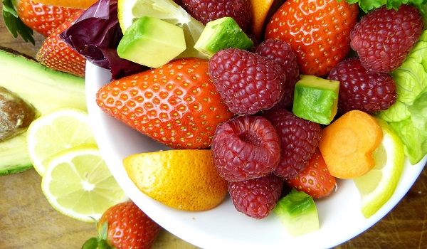 Include plenty of vegetables and some fruit in your diet to get on to the wellness bandwagon.