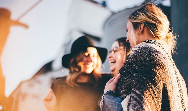 Boost mental wellness: tell your best friends how much you love them.