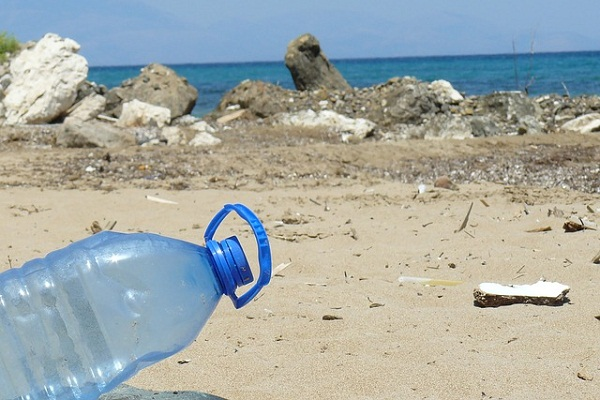 Avoid single use plastic water bottles. Buy a reusable water bottle instead.