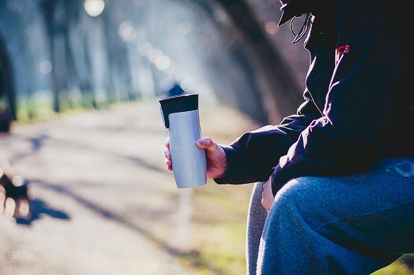 If you buy coffee every day, ask for a reusable mug or take your own travel mug.