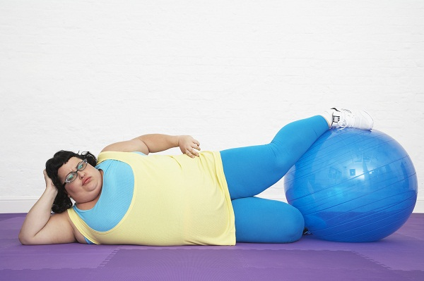 Weight gain could be a symptom of estrogen dominance in women.