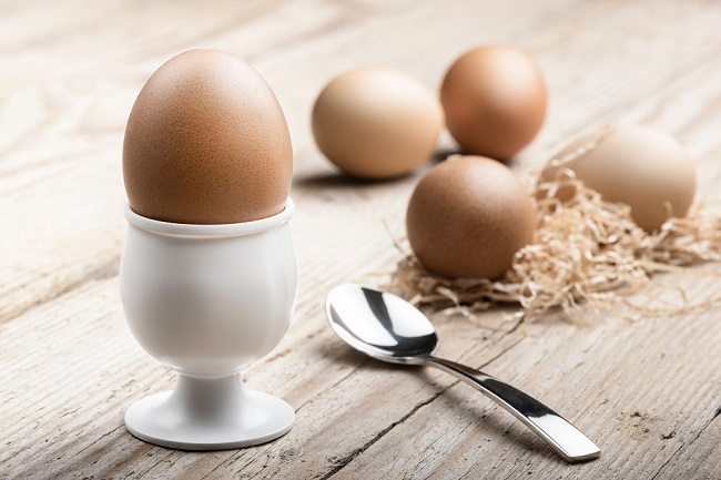 Eggs are an excellent source of high-quality protein.