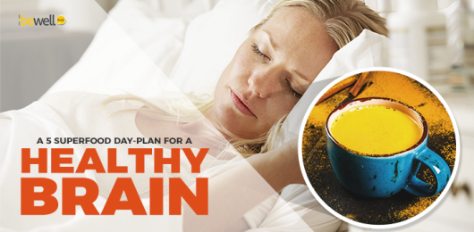 A 5 Superfood Day-Plan for A Healthy Brain