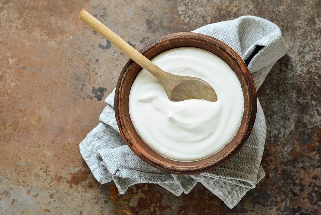 Healthy brain: Yogurt will help perk you up.