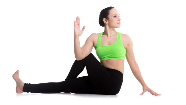 This pose can help to stretch and restore flexibility to the spine.