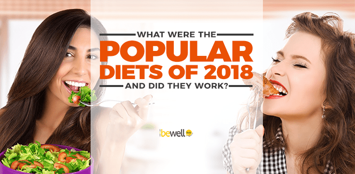 Healthy Eating In 2018: The 5 Most Popular Diet Trends