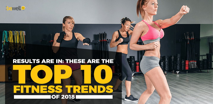 The top 10 fitness trends of 2018